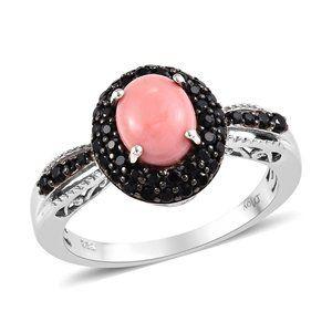 Peach  Opal Ring